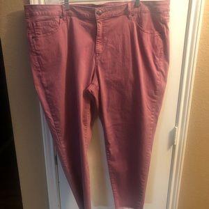 Lane Bryant size 26 Skinny Jeans